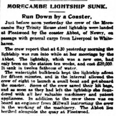 lv70 morecambe bay 1903 Sheffield Independent.jpg