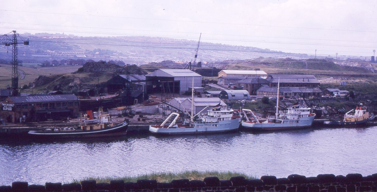 Meadow and Cultra Tyne July 1962.jpg